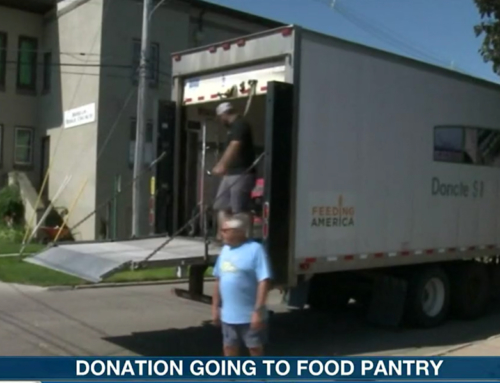 250 pound food donation gets donated again